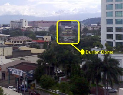 Durian Dome @ The Davao's newest park