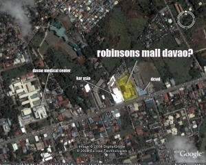 Site of Robinsons Mall of Davao
