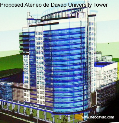 Proposed 20 storey Ateneo De Davao University Tower