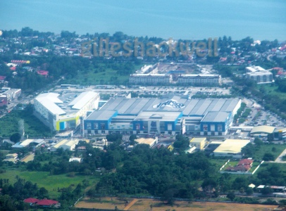 SM City Davao in Ecoland with SM Annex as of December 2011